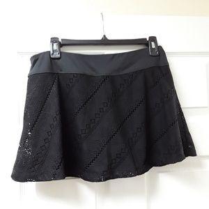 Fila short in black